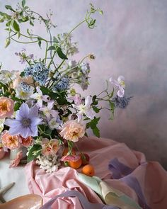 From our recent French Rococo class revelling in asymmetric shapes curves shells and pastels. The delectable silk ribbons were botanically dyed by Ikebana, Floral Wedding, Wedding Flowers, Grand Art, French Rococo, Flower Shower, Floral Photography, Flower Aesthetic, Floral Arrangements