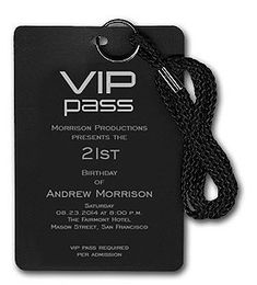vip pass for the after party Hollywood Party, Hollywood Sweet 16, Hollywood Birthday Parties, 30th Birthday Parties, Sweet 16 Birthday, 16th Birthday, Prince Birthday, Sweet 16 Invitations, Birthday Invitations