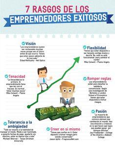 INFOGRAFÍA: 7 características del emprendedor exitoso | Emprendimiento