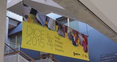 DICE-2015-lyit-design-conference-banner Design Conference, Dice, Tech Companies, Banner, Company Logo, Logos, Banner Stands, Banners, Logo