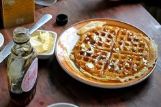 Waffles.  LOVELY!  Can't wait to make these with friends!