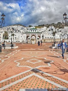 Tetouan Marrocos / Morocco. Places To Travel, Travel Destinations, Places To Visit, Casablanca Morocco, Visit Morocco, Europe Photos, Africa Travel, Best Cities, Travel Goals