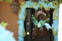 The entrance and first impression will set the mood for the party-