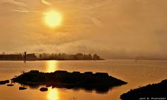 Georgian Bay Misty Sunset - panorama | Flickr - Photo Sharing!