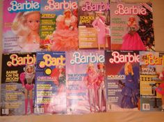 Vintage 80's Barbie Magazines