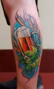 Hops barley and beer