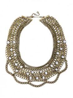 Twinkle Chain Bib