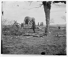 Ruins of Mrs. Judith Henry's House - Bull Run, VA, March 1862