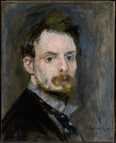 Self-Portrait, 1875 // by Pierre-Auguste Renoir
