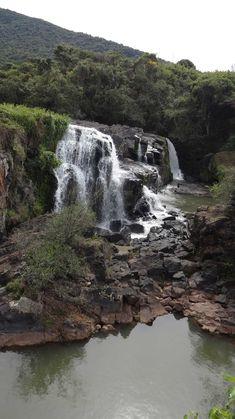 Bride's Veil Waterfall Cachoeira Véu das Noivas - Poços de Caldas