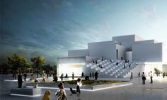 The Bjarke Ingel Group-designed LEGO House recently topped out and has been assigned a grand opening date for September 28, 2017.