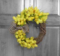 Summer Wreath  Spring Wreath  Summer Wreaths  by Refined Wreath