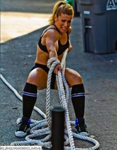 Bad ass enough to be the first addition in my CrossFit girls section. More to come!