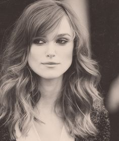 Keira Knightley - wanting to steal her whole look!