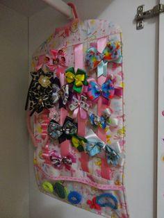 JaKe PaTch: PAP Porta Laços e Tiaras no Cabide