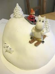 moomin cake, made for a 4 year old boy