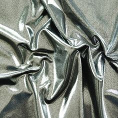 Majestic Slinky - Silver | Solid Stone Fabrics #cheer #bows #cheerbows #dance #recital #theater #gymnastics #skating #fabric #stretchfabric  #DIY #crafts #sewing #costumes #fashion