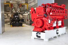 Cummins Ships Its Largest Diesel Engine Yet to Power Global Rail Diesel Crate Engines, Cummins Diesel Engines, Cummins Turbo Diesel, Diesel Trucks, Ram Cummins, Locomotive Engine, Diesel Locomotive, New Trucks, Trucks For Sale