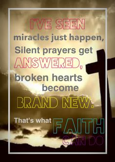 That's what FAITH can do. Please pray for our country, take 5 minutes and ask God to help this country and guard it. Thank you, xo Inspirational Scripture Quotes, Inspirational Thoughts, Faith Quotes, Bible Quotes, Praise The Lords, Praise And Worship, Praying For Our Country, Believe In Miracles, Printable Bible Verses