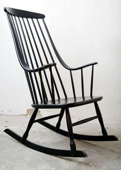 Lena Larsson I Bohem 2402 I Nesto I Rocking Chair I Schaukelstuhl | eBay