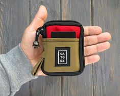 a255e306a636 EDC tactical wallet EDC wallets for men from Cordura. For Small Tool Pouch,  Edc
