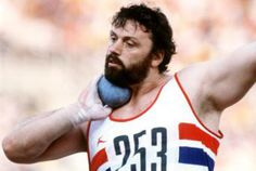 Geoff Capes. European Gold Medalist for the Shot Put 1974, 1976. Commonwealth Games Gold Medalist 1974, 1978.