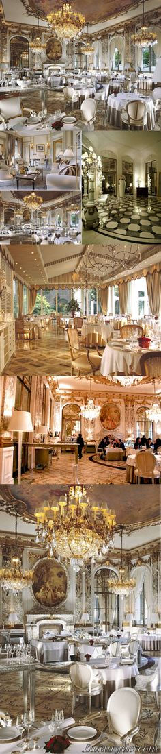 Le Meurice Restaurant  A historic hotel that provided the setting for Gil and Inez's wine tasting in Woody Allen's film Midnight in Paris, Le Meurice has been a lot of things: a residence for artist Salvador Dali, the location of a wedding dinner Picasso held, and even a hospital for wounded soldiers during World War I. Now, it's a luxury hotel with a bar/restaurant decorated in the utmost ornate style. For a romantic dinner, make a reservation at Le Meurice..#Luxurydotcom