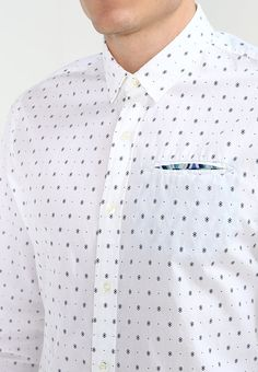 Scotch & Soda REGULAR FIT - Camisa informal - white - Zalando.es