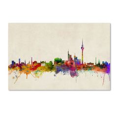 Michael Tompsett 'Berlin Germany' Canvas Art