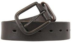 e0e0fe585 Levi's Genuine Leather Belt Dark Brown X-Large 42-44 Cinto De Couro,