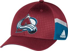 abb2f2de adidas Youth Colorado Avalanche 2017 NHL Draft Structured Flex Hat.  Colorado AvalancheFlex Fit HatsSpringNational Hockey ...