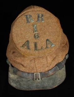 Raccoon Roughs hat, 6th Alabama Infantry.