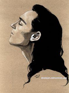 Loki, profile by evankart on DeviantArt