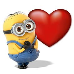 Minions, You have my Heart!!!!