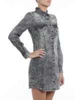 iKRIX Philipp Plein: short dresses - Hola denim shirt dress