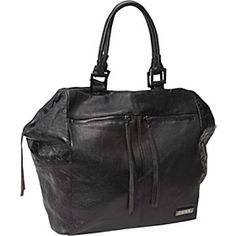 Embossed Houndstooth - Tote Black  #eBags and #eBagswishlist