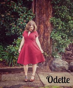 Looking for your next project? You're going to love The Odette dress by designer Bluegingerdoll.