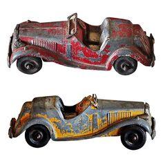 Pair of Vintage Toy Cars - $85.
