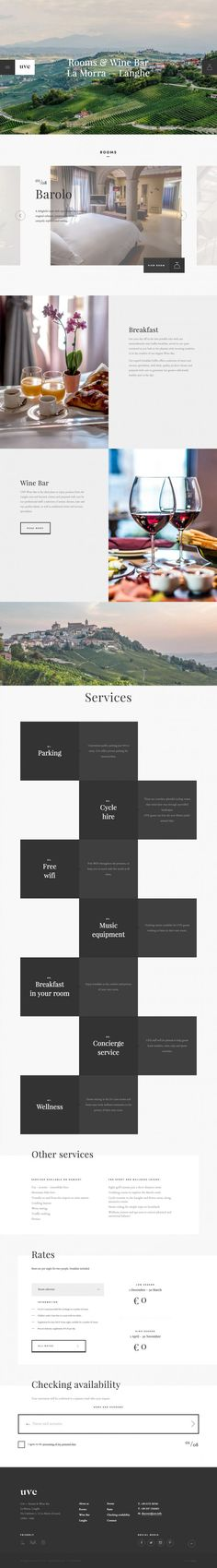 Design Brochure Hotel Galleries 69 Ideas For 2019 Website Design Layout, Web Layout, Layout Design, Flat Website, Hotel Website, Flat Design Inspiration, Design Ideas, Web Hotel, Design Theory