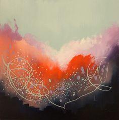 "Saatchi Online Artist Georgina Vinsun; Painting, ""Tina"" #art"