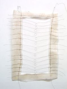 On and On, paper, wire : Mari Andrews