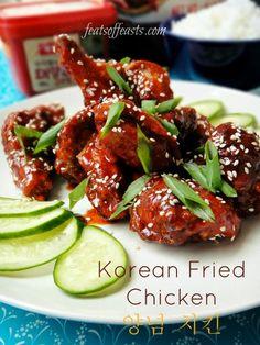 AFF Korea – Korean Fried Chicken (양념 치킨 yangnyeom chicken ...