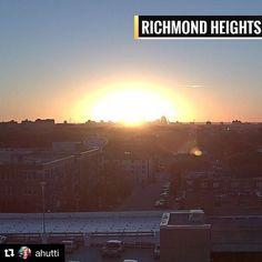 #Repost @ahutti  Tuesday sunrise! #stlwx #sunshine #sunrise @FOX2now #goodmorning
