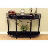 Found it at Wayfair - Console Table with Turned Legs