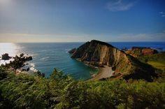 Playa del Silencio (Cudillero), Asturias.