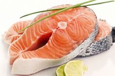 Fight fatigue by eating healthy with foods like Salmon which is a great source of Omega 3 and Vit D