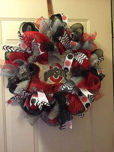 A personal favorite from my Etsy shop https://www.etsy.com/listing/252156776/poly-deco-mesh-ohio-state-buckeyes