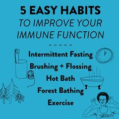 5 Easy Habits To Improve Your Immune Function - Farmacopia Systemic Inflammation, Reduce Inflammation, Forest Bathing, Relaxation Meditation, Small Study, Anti Inflammatory Diet, Cardiovascular Disease, Oral Hygiene, Oral Health