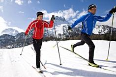 Engadine St Moritz Ski Classic Cross Country Skiing Switzerland
