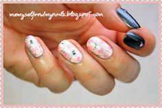 me, myself and my nails: Wspomnienie lata - czyli stemplowanie kombinowane ...